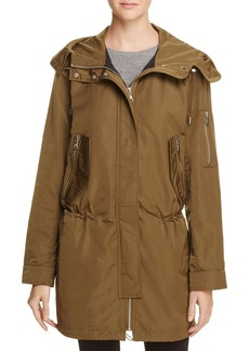 VINCE CAMUTO Cinched Rain Jacket
