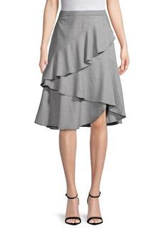 Vince Camuto Classic Ruffled Skirt