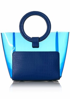 Vince Camuto Clea Small Tote blue surf