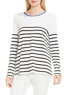 Vince Camuto Clipper Stripe High/Low Top