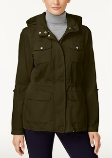Vince Camuto Coated Utility Anorak