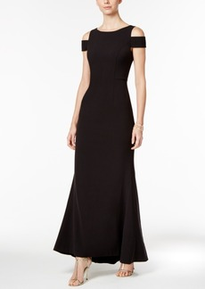 Vince Camuto Cold-Shoulder Gown