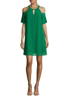 Vince Camuto Cold Shoulder Mini Dress