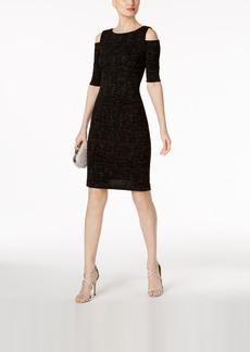 Vince Camuto Cold-Shoulder Sheath Dress