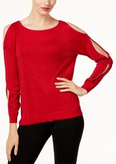 Vince Camuto Cold-Shoulder Sweater