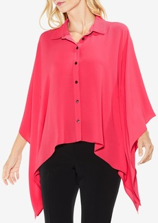 Vince Camuto Collared Poncho Shirt