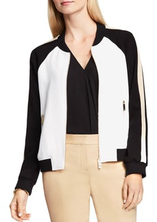VINCE CAMUTO Color Block Bomber Jacket