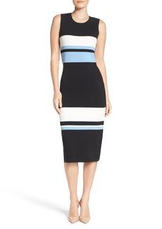 Vince Camuto Color Block Midi Dress (Regular & Petite)