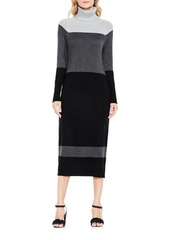Vince Camuto Color Blocked Sweater Dress