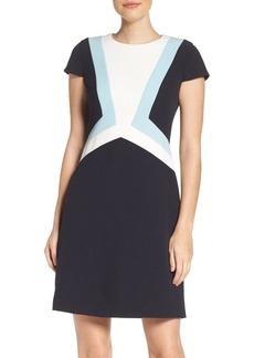 Vince Camuto Colorblock Shift Dress (Regular & Petite)
