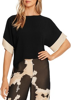 VINCE CAMUTO Colorblock Sleeve Top