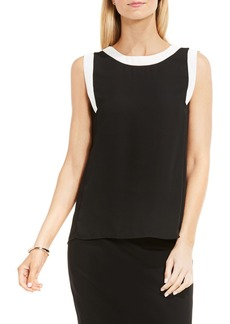 Vince Camuto Colorblock Sleeveless Top