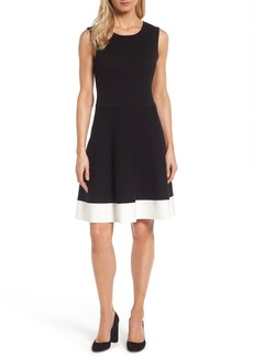 Vince Camuto Colorblock Sweater Dress