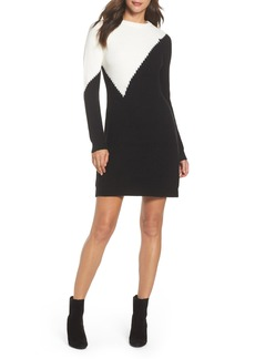 Vince Camuto Colorblock Sweater Dress (Regular & Petite)