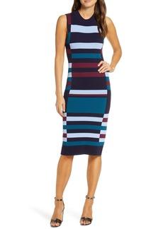 Vince Camuto Colorblock Sweater Dress (Regular & Petite)