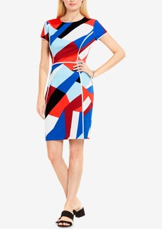 Vince Camuto Colorblocked Sheath Dress