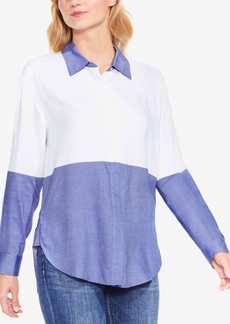 Vince Camuto Colorblocked Shirt