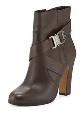 Vince Camuto Connolly Buckle Leather Bootie