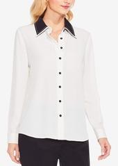 Vince Camuto Contrast-Collar Shirt