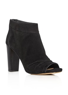 VINCE CAMUTO Cosima Peep Toe High Heel Booties