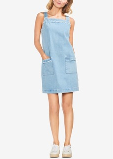 Vince Camuto Cotton Denim Shift Dress