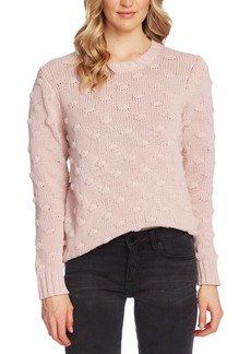 Vince Camuto Cotton Popcorn Sweater
