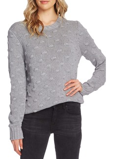 Vince Camuto Cotton Popcorn Sweater (Regular & Petite)