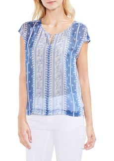 Vince Camuto Country Paisley Blouse