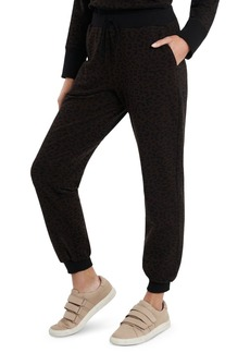 VINCE CAMUTO Cozy Animal Print Sweatpants