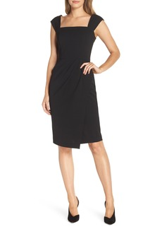 Vince Camuto Crepe Body-Con Dress