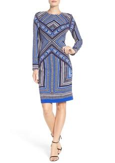 Vince Camuto Crepe Body-Con Dress (Regular & Petite)