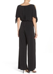 Vince Camuto Crepe Cold Shoulder Jumpsuit