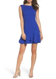 Vince Camuto Crepe Fit & Flare Dress (Regular & Petite)
