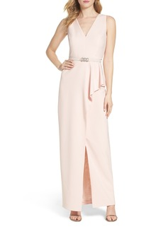 Vince Camuto Crepe Gown