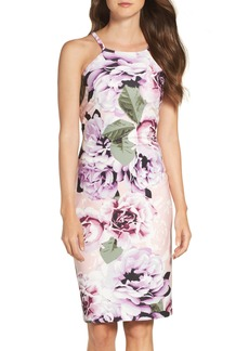 Vince Camuto Crepe Halter Body-Con Dress