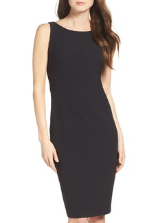 Vince Camuto Crepe Midi Dress