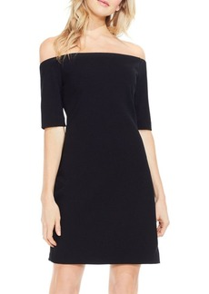 Vince Camuto Crepe Off-The-Shoulder Dress