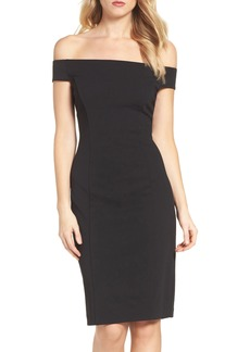 Vince Camuto Crepe Sheath Dress (Regular & Petite)