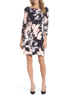 Vince Camuto Crepe Shift Dress