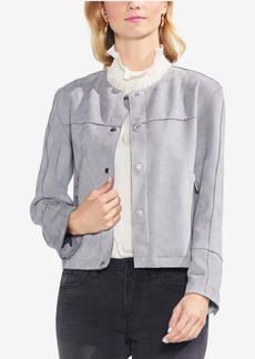 Vince Camuto Crew-Neck Jacket