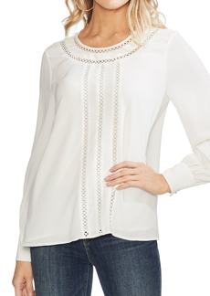 Vince Camuto Crochet Detail Top