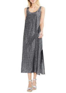 Vince Camuto Cross Dye Sleeveless Maxi Dress