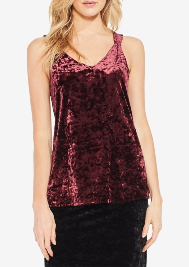 dc86a01bc59c6a Vince Camuto Vince Camuto Crushed Velvet Tank Top