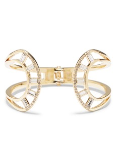 Vince Camuto Crystal Hinge Cuff