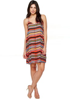 Vince Camuto Cubana Beats Tank Dress w/ Invert Pleat
