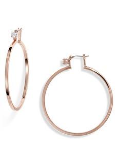 Vince Camuto Cubic Zirconia Hoop Earrings