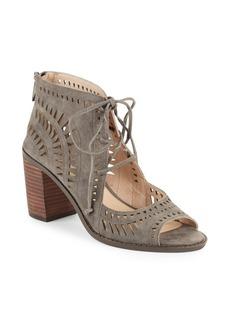 Vince Camuto Tarita Cutwork Leather Sandals