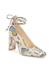 Vince Camuto Damell Lace-Up Square Toe Pump (Women)
