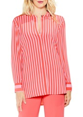 Vince Camuto Debut Mix Stripe Tunic