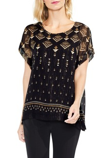 Vince Camuto Deco Highlights Top